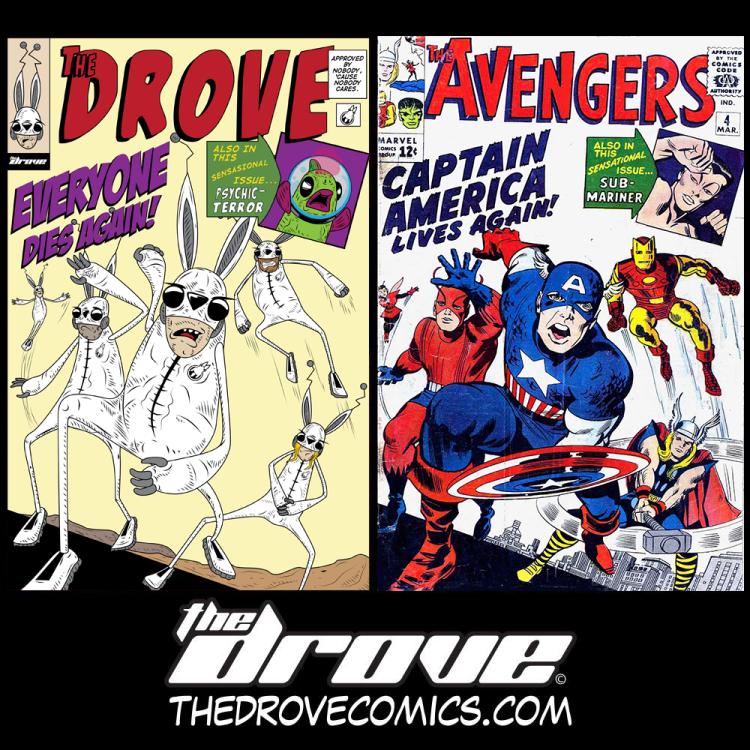 Avengers Fake cover friday reveal