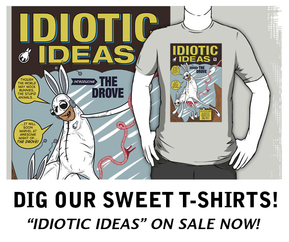 idiotic ideas shirt copy